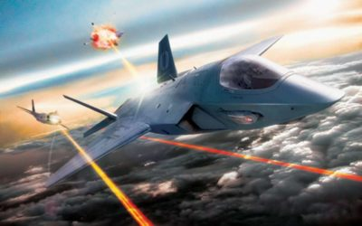Laserkanon voor straaljager